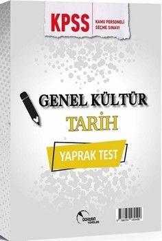 Doktrin Yayınları KPSS Genel Kültür Tarih Yaprak Test