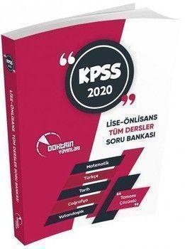 Doktrin Yayınları KPSS Ön Lisans Ortaöğretim Tek Kitap Tamamı Çözümlü Soru Bankası