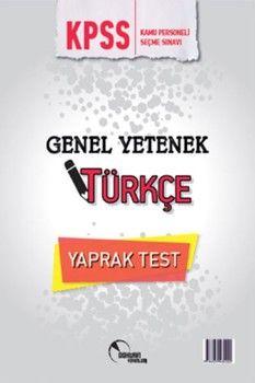 Doktrin Yayınları KPSS Türkçe Yaprak Test