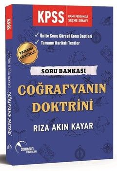 Doktrin Yayınları KPSS Coğrafyanın Doktrini Soru Bankası