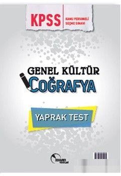 Doktrin Yayınları KPSS Coğrafya Yaprak Test
