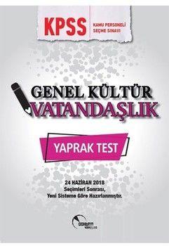 Doktrin Yayınları KPSS Vatandaşlık Yaprak Test