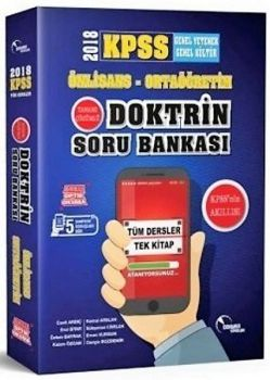 Doktrin Yayınları 2018 KPSS Ön Lisans Ortaöğretim Tek Kitap Tamamı Çözümlü Soru Bankası