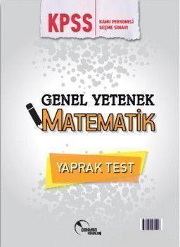 Doktrin Yayınları KPSS Genel Yetenek Matematik Çek Kopart Yaprak Test