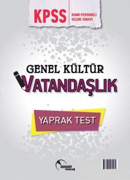 Doktrin Yayınları 2018 KPSS Genel Kültür Vatandaşlık Çek Kopart Yaprak Test