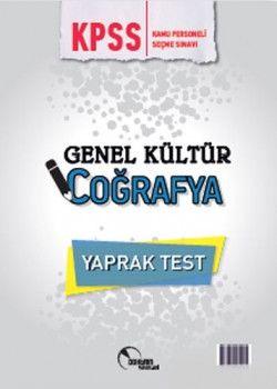 Doktrin Yayınları 2018 KPSS Genel Kültür Coğrafya Çek Kopart Yaprak Test