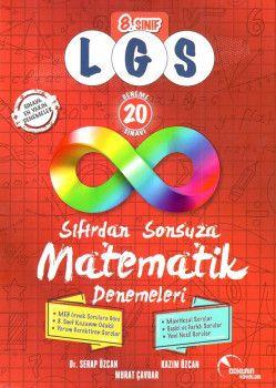 Doktrin Yayınları 8. Sınıf LGS Sıfırdan Sonsuza Matematik 20 Deneme