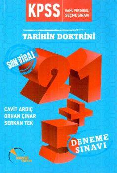 Doktrin Yayınları KPSS Tarihin Doktrini Son Viraj 21+5 Deneme Sınavı
