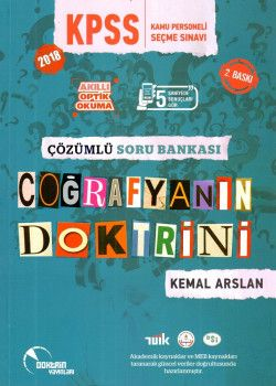 Doktrin Yayınları 2018 KPSS Coğrafyanın Doktrini Çözümlü Soru Bankası 2. Baskı