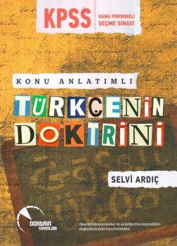 Doktrin Yayınları KPSS Türkçenin Doktrini Konu Anlatımlı
