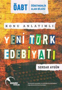Doktrin Yayınları ÖABT Yeni Türk Edebiyatı Konu Anlatımlı