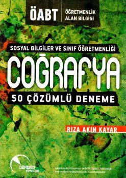 Doktrin Yayınları ÖABT Sosyal Bilgiler ve Sınıf Öğretmenliği Coğrafya Çözümlü 50 Deneme