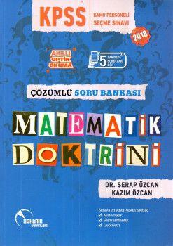 Doktrin Yayınları 2018 KPSS Matematik Doktrini Çözümlü Soru Bankası