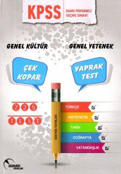 Doktrin Yayınları KPSS Genel Yetenek Genel Kültür Çek Kopar Yaprak Test