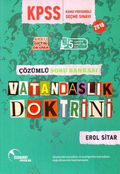 Doktrin Yayınları 2018 KPSS Vatandaşlık Doktrini Çözümlü Soru Bankası