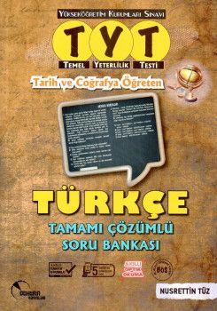 Doktrin Yayınları YKS 1. Oturum TYT Tarih ve Coğrafya Öğreten Türkçe Tamamı Çözümlü Soru Bankası
