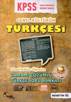 Doktrin Yayınları KPSS Genel Kültürün Türkçesi Genel Kültür Öğreten Tamamı Çözümlü Soru Bankası