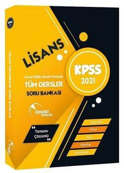 Doktrin Yayınları 2021 KPSS Lisans Tüm Dersler Soru Bankası