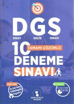 Dokuzaltı Yayınları DGS Tamamı Çözümlü 10 Deneme Sınavı