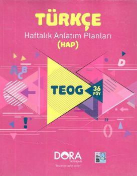 Dora Yayınları 8. Sınıf TEOG Türkçe Haftalık Anlatım Planları 36 Föy