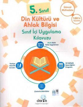 Dorya Yayınları 5. Sınıf Din Kültürü ve Ahlak Bilgisi Sınıf İçi UygulamaKılavuzu