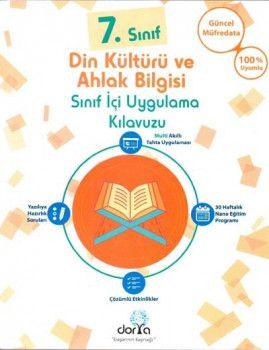 Dorya Yayınları 7. Sınıf Din Kültürü ve Ahlak Bilgisi Sınıf İçi Uygulama Kılavuzu