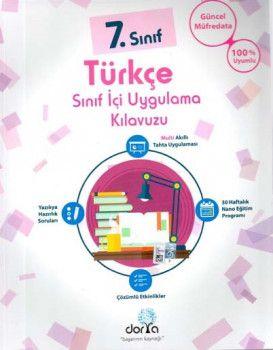 Dorya Yayınları 7. Sınıf Türkçe Sınıf İçi Uygulama Kılavuzu