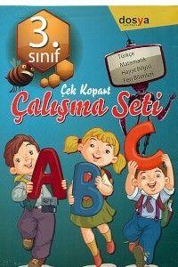 Dosya Yayınları 3. Sınıf Çek Kopart Çalışma Seti