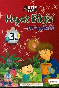 Dosya Yayınları 3. Sınıf Hayat Bilgisi Aktif Okul 8 Fasikül