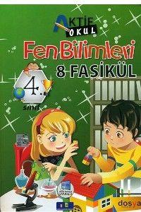 Dosya Yayınları 4. Sınıf Fen Bilimleri Aktif Okul 8 Fasikül