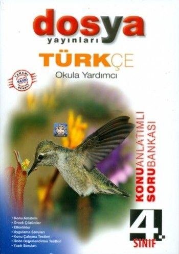 Dosya Yayınları 4. Sınıf Türkçe Soru Bankası
