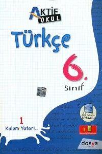 Dosya Yayınları 6. Sınıf Türkçe Konu Anlatımlı Aktif Okul