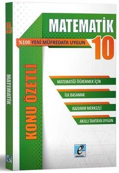 E - Kare Yayınları 10. Sınıf Matematik Konu Özetli Soru Bankası
