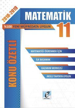 E-Kare Yayınları 11. Sınıf Matematik Konu Özetli Soru Bankası Seti