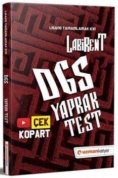Uzman Kariyer Yayınları 2021 DGS Labirent Çek Kopar Yaprak Test
