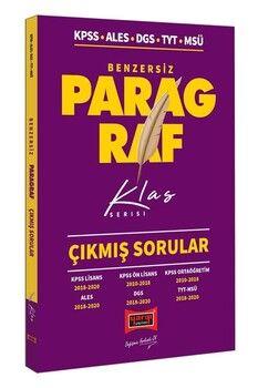 Yargı Yayınları KPSS ALES DGS TYT MSÜ Benzersiz Paragraf Çıkmış Sorular Klas Serisi