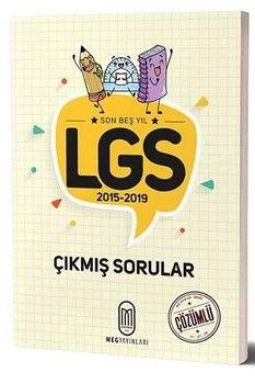 MEG Yayınları LGS Son 5 Yıl Çözümlü Çıkmış Sorular