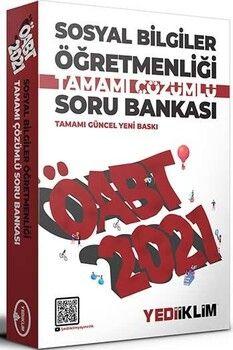 Yediiklim Yayınları 2021 ÖABT Sosyal Bilgiler Öğretmenliği Tamamı Çözümlü Soru Bankası