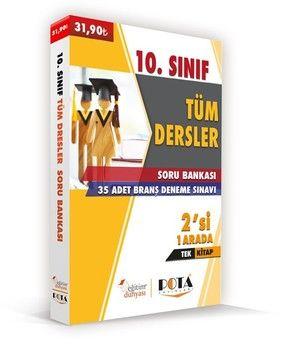 Eğitim Dünyası Yayınları 10. Sınıf Tüm Dersler Soru Bankası