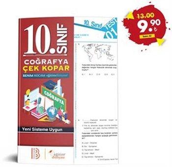 Eğitim Dünyası Yayınları 10. Sınıf Coğrafya Çek Kopar Yaprak Test
