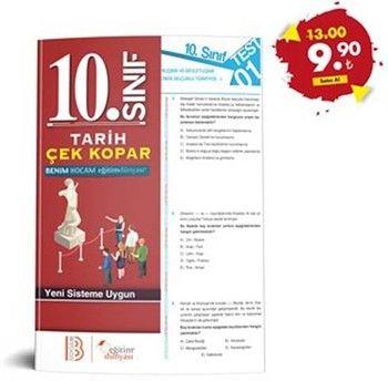 Eğitim Dünyası Yayınları 10. Sınıf Tarih Çek Kopar Yaprak Test