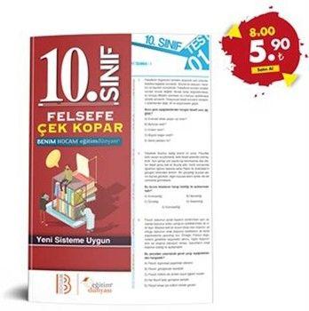Eğitim Dünyası Yayınları 10. Sınıf Felsefe Çek Kopar Yaprak Test