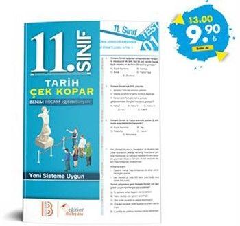 Eğitim Dünyası Yayınları 11. Sınıf Tarih Çek Kopar Yaprak Test