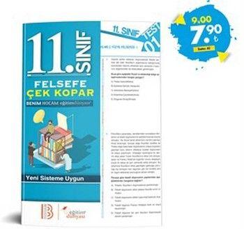 Eğitim Dünyası Yayınları 11. Sınıf Felsefe Çek Kopar Yaprak Test