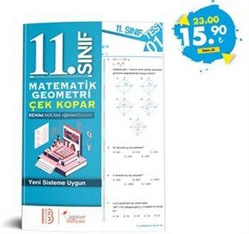 Eğitim Dünyası Yayınları 11. Sınıf Matematik Geometri Çek Kopar Yaprak Test