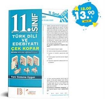 Eğitim Dünyası Yayınları 11. Sınıf Türk Dili ve Edebiyatı Çek Kopar Yaprak Test
