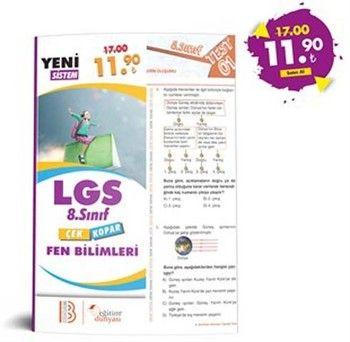 Eğitim Dünyası Yayınları 8. Sınıf LGS Fen Bilimleri Çek Kopar Yaprak Test