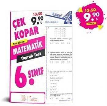 Eğitim Dünyası 6. Sınıf Matematik Çek Kopar Yaprak Test