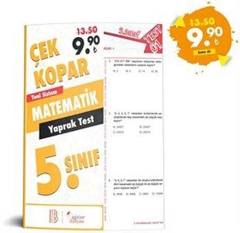 Eğitim Dünyası 5. Sınıf Matematik Çek Kopar Yaprak Test