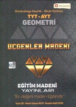 Eğitim Madeni Yayınları TYT AYT Geometri Üçgenler Madeni Soru Bankası